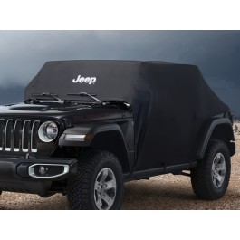 Genuine Jeep Accessories 82210320 Full Vehicle Cover for Jeep Wrangler 4-Door