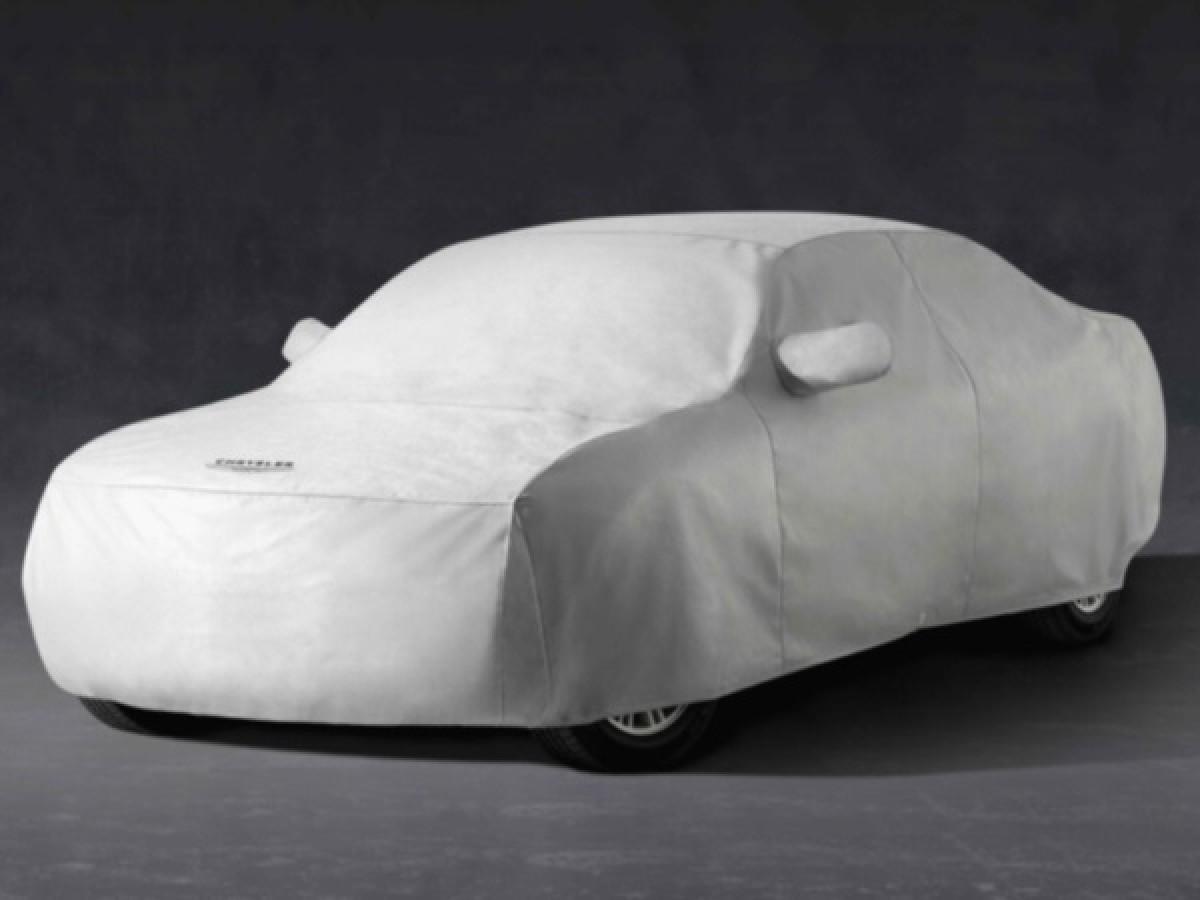 Covercraft Custom Fit Car Cover for Select Chrysler Newport//300 Models Black FS10821F5 Fleeced Satin