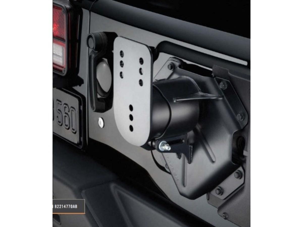 Mopar Jeep Wrangler JL Oversized Spare Tire Mounting Bracket Kit OEM