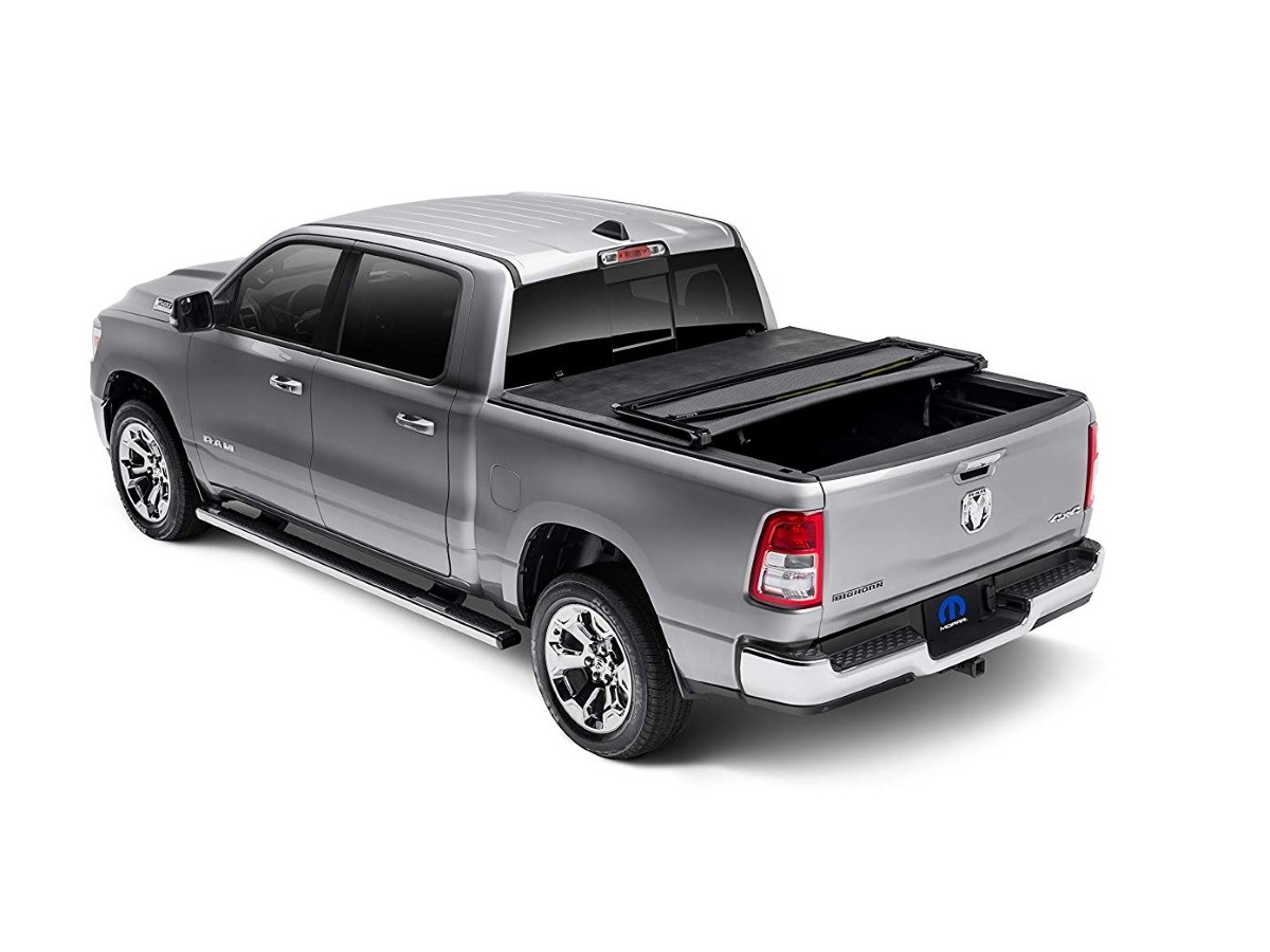 Authentic Mopar Soft Tri Fold Tonneau Cover 82215863ab Mopar Online Parts