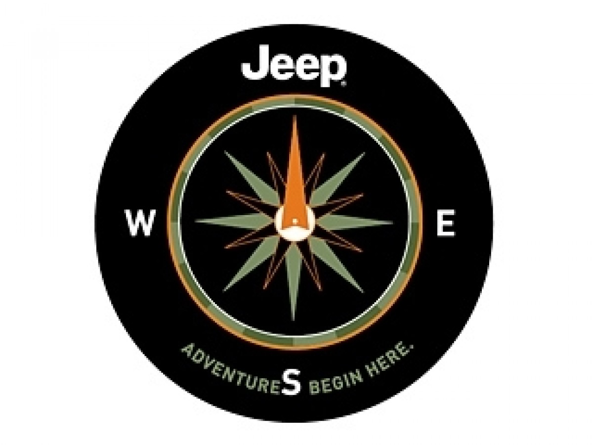 Genuine Jeep Accessories 82210883AB Cloth Spare Tire Cover with Adventure Begins Here Logo