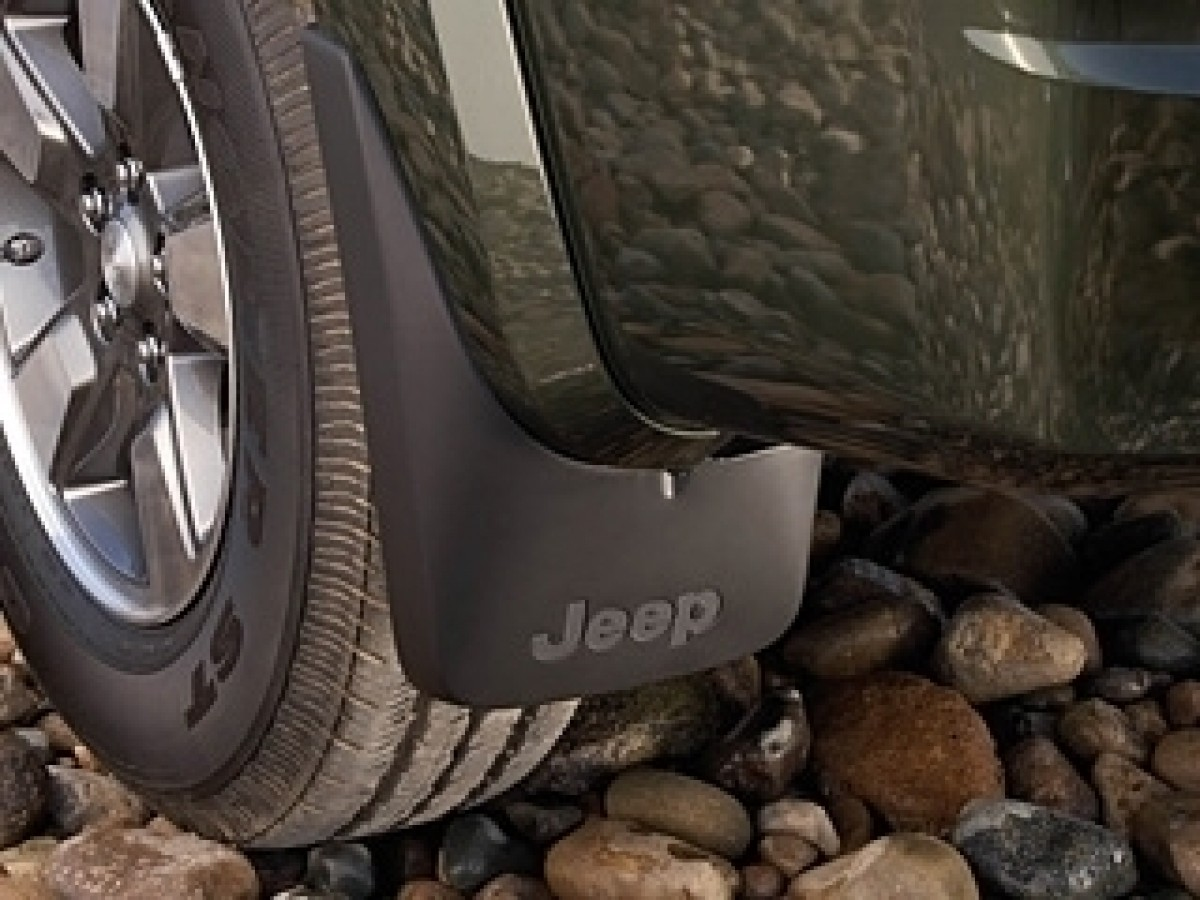 Jeep 11x19 Easy Fit Mud Guards Splash Guards1 Pair